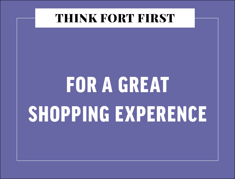 A Great Shopping Experience