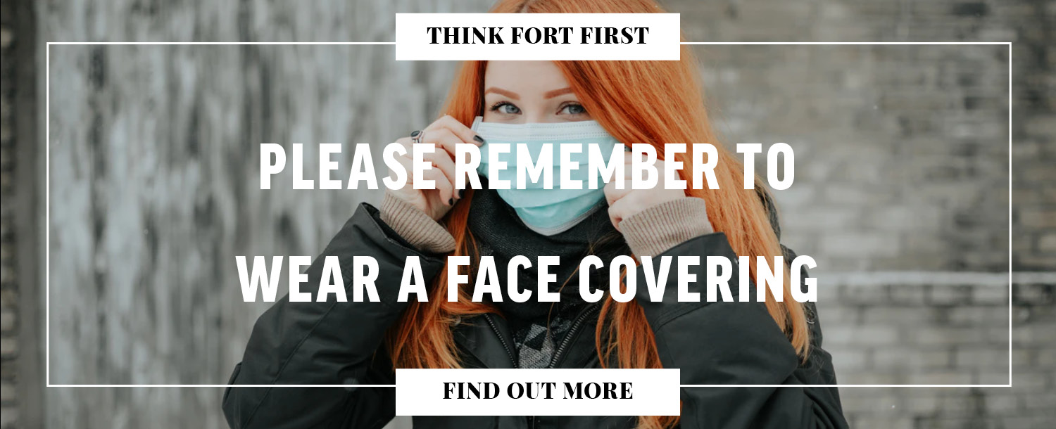 Please Remember To Wear A Face Covering