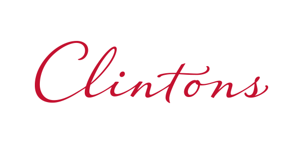Visit the Clintons page for opening hours and contact details