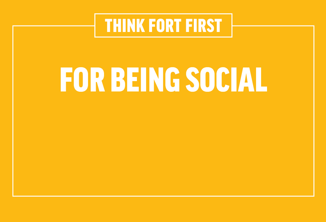 Keep up to date with everything happening at The Fort on social media